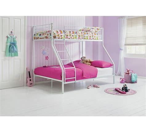 argos bunk beds with mattress buy home metal bunk bed with mattress