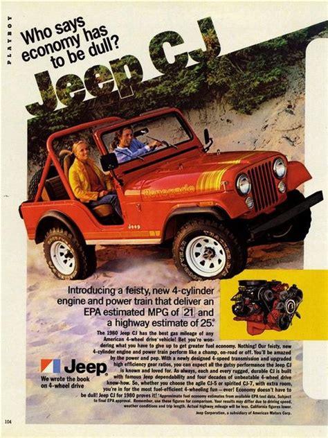 original jeep cj 5 advertising poster jeep cj