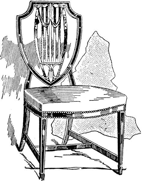 Ideas For Hepplewhite Furniture Design Hepplewhite Chair 1 Clipart Etc