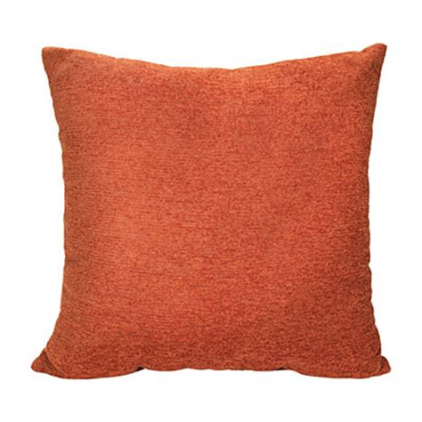 Rust Pillow by Rust Chenille Decorative Pillow Big Lots