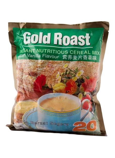 Gold Roast Chocolate by Gold Roast Instant Cereal Cokelat Pck 20x30g Klikindomaret