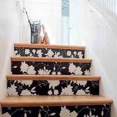 decoupage stairs 1000 images about decoupage on stair risers