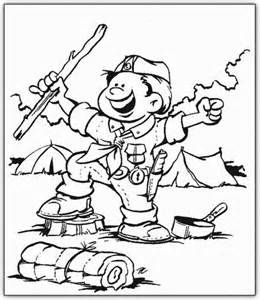 Boy Scout Coloring Pages boy scouts coloring pages coloringpagesabc