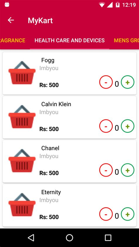 ecommerce templates for android mykart ecommerce android template by spacexfrog codecanyon