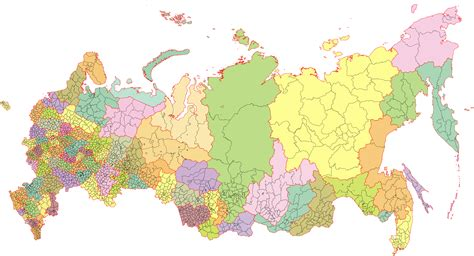 russia map png tiedosto map of subdivisions of russia svg