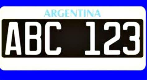 patentes de autos 2017 mir 225 c 243 mo fue la evoluci 243 n de las patentes argentinas
