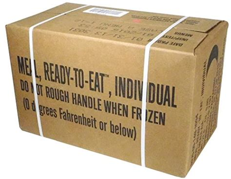 Nasi Box Ready To Eat 1 mres meals ready to eat box a genuine u s surplus menus 1 12 for sale