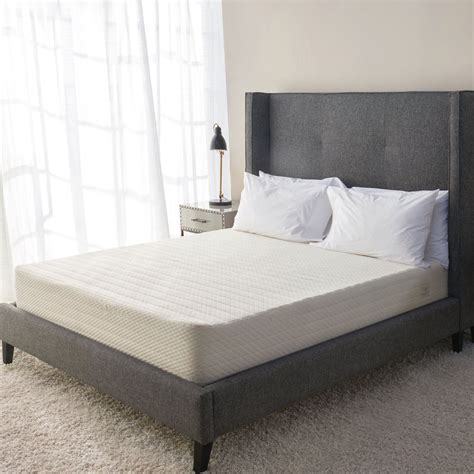 brentwood home brentwood home 13 inch gel hd memory foam bamboo mattress
