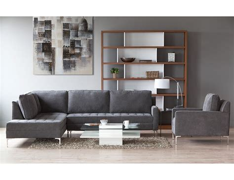Miami Sectional Sofa Structube Living Room Sectional Sofas Miami Charcoal Living Rooms Living