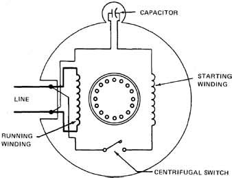 120 volt capacitor start motor wiring diagram 45 wiring