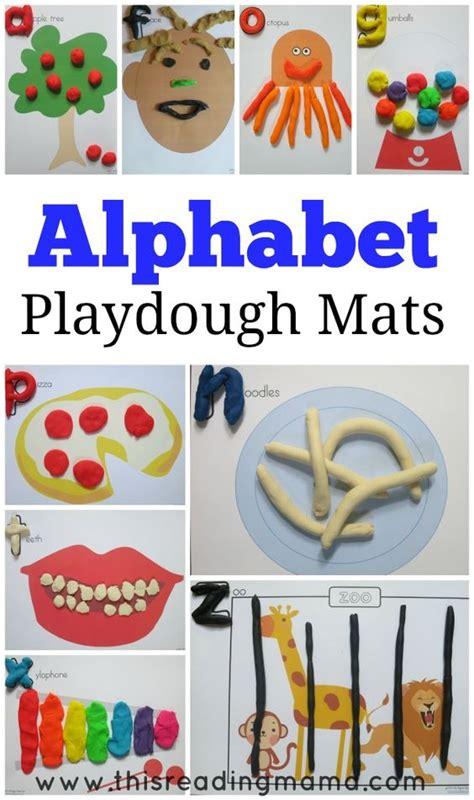 printable playdough mats alphabet pinterest the world s catalog of ideas