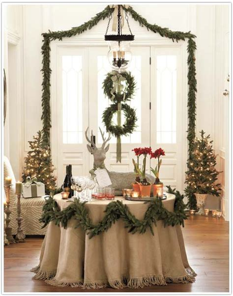 for the love of burlap the holiday s hottest decorating
