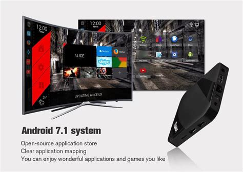 Android 7 1 Tv Box Amlogic S905w Max 1gb Ram 16gb Quadcore 4k tanix tx3 max android 7 1 amlogic s905w 2gb 16gb tv box