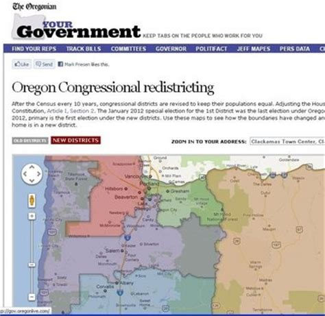 map of oregon legislative districts an easy guide to oregon s new congressional map