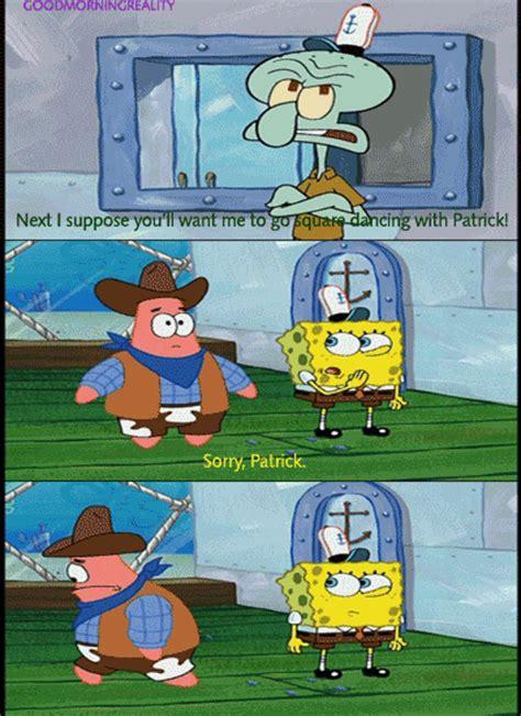 square dancing  patrick spongebob squarepants fan art  fanpop