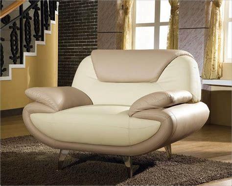 two tone leather sofa modern two tone bonded leather sofa set 44l2812