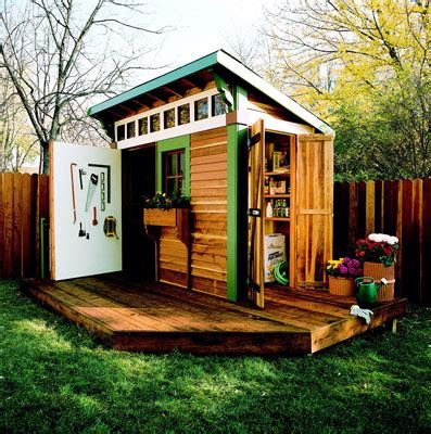 Interesting Garden Sheds