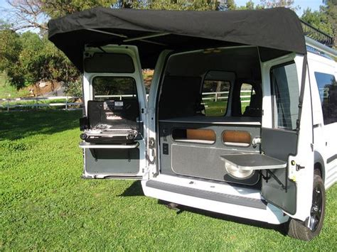 ford transit connect awning ford transit connect cer conversion by khd cers by