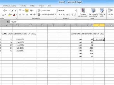tutorial excel 2010 en video tutorial como sacar los porcentajes en excel 2010 youtube