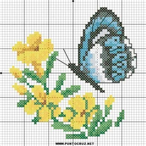 punto de cruz imagenes esquemas graficos y patrones graficos de mariposas para punto cruz gratis punto de
