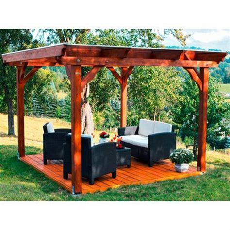 Stabiler Gartenpavillon 3x3 by Gartenpavillon Aus Holz F 252 R Jeden Garten Archzine Net