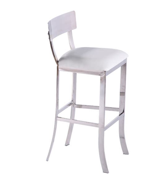 modrest lindy contemporary white leatherette bar stool modrest tower modern white leatherette bar stool