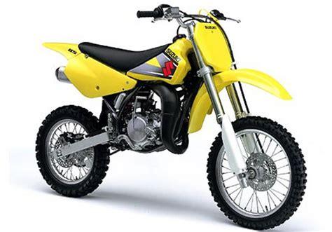 2002 Suzuki Rm85 2002 2008 Suzuki Rm85 Motorcycle Review Top Speed