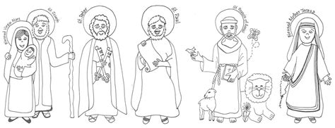 Look To Him And Be Radiant Saints Coloring Pages And Coloring Pages Of Saints