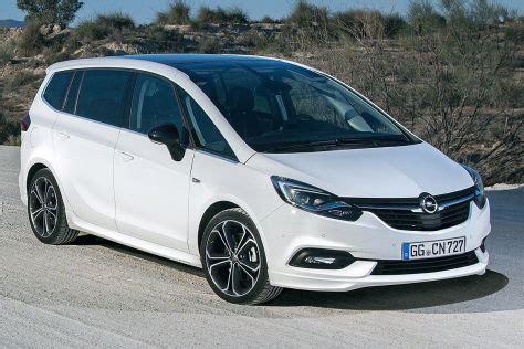opel zafira 2018 opel zafira facelift 2016 preis ausstattung autobild de