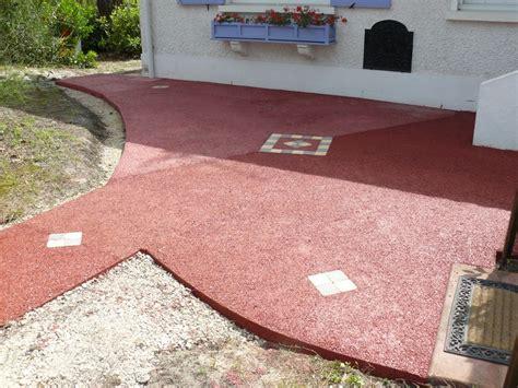 Supérieur Revetement Allee De Jardin #2: allée-de-jardin-en-beton-drainant-coloré-à-Arcachon.jpg