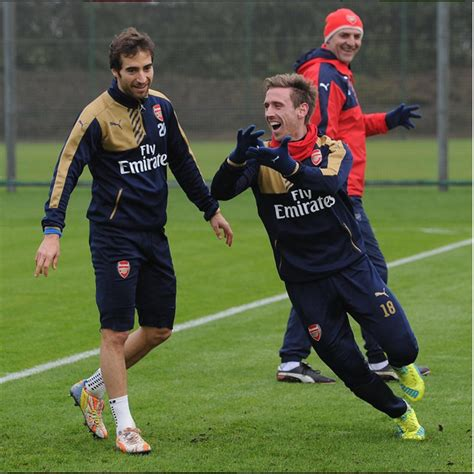 Arsenal Match Today | arsenal v chelsea see photos of players in training ahead