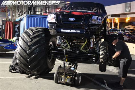 monster truck show las vegas coverage gt more photos from sema show 2011 motormavens