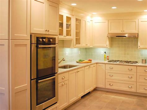 inexpensive white kitchen cabinets cheap versus steep kitchen backsplashes hgtv