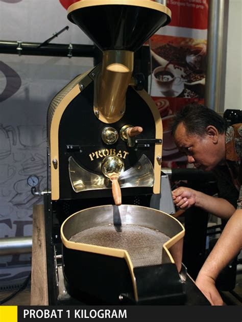 Mesin Roasting Kopi William peresmian showroom probat cikopi
