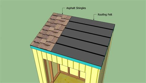 Shingling A Shed Roof by How To Build A Lean To Shed Howtospecialist How To Build Step By Step Diy Plans