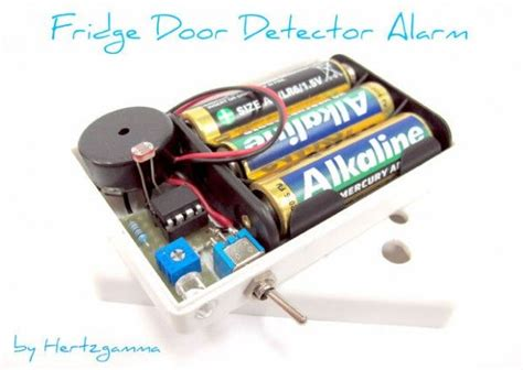 fridge door detector alarm use arduino for projects