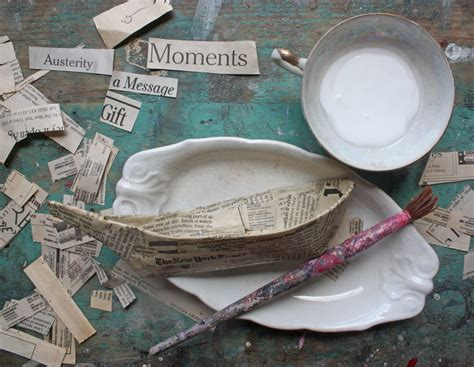 How To Make A Paper Mache Boat - craft pattern wood handmade