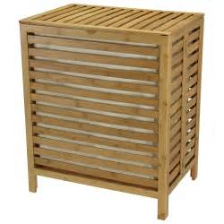 Wicker Laundry Hamper With Lid Laundry Hamper With Lid Liner In Wicker Chrome Or Wood