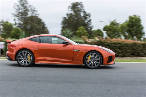 jaguar f type 2017 jaguar f type svr review caradvice