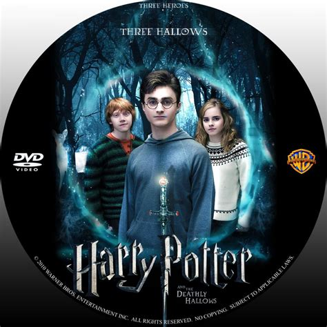 Dvd Harry Potter And The Deathly Hallows Part 2 harry potter and the deathly hallows part 1 label v3