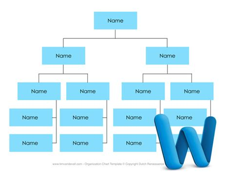 template hierarchy in org chart template word wordscrawl