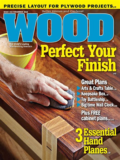 woodwork magazine wood magazine november 2016 edition texture unlimited