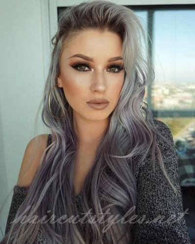hair color grey pretty hair dye colors for dying white hair haircut