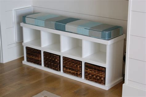 Padded Bench Bathroom Beach With Bench Seat Double Sinks Bathroom Bench Storage