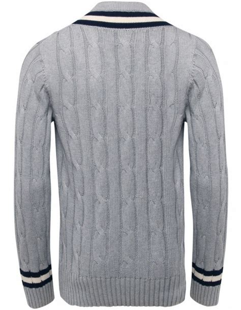 cable knit v neck sweater s hackett cable knit v neck sweater jules b