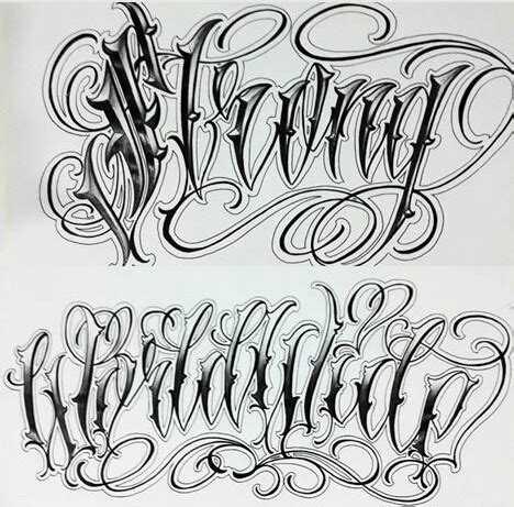 chicano tattoo lettering design chicano lettering beauty of the barrio pinterest