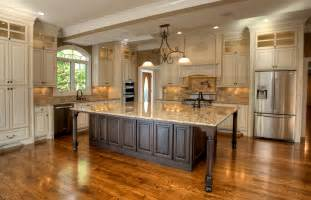 Large Kitchen Cabinets Large Kitchen Designs Ideas Presented In Some Styles