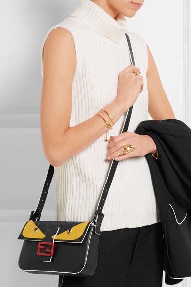 Whips Out The Fendi Purse Again by Fendi Bag Bugs Baguette Leather Shoulder Bag Net A