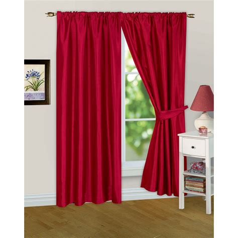 ready made drapes and curtains faux silk ready made fully lined modern window curtains