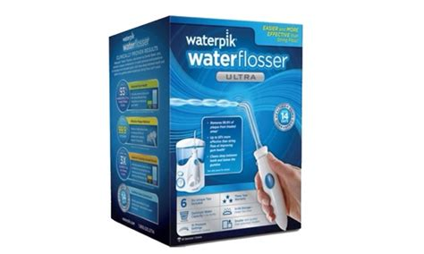 Waterpik Ultra Dental Flosser Wp 100 waterpik ultra dental water jet flosser groupon